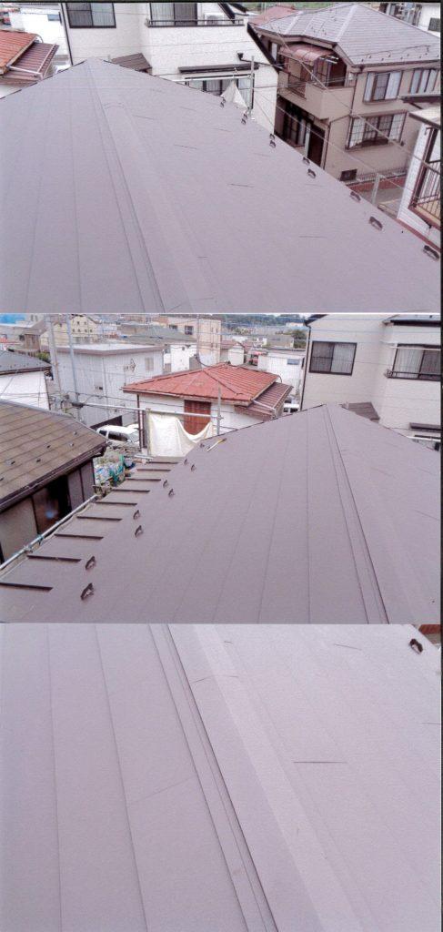 軽い屋根材に取り替えます